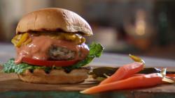 Mad Hungry Turkey Burger