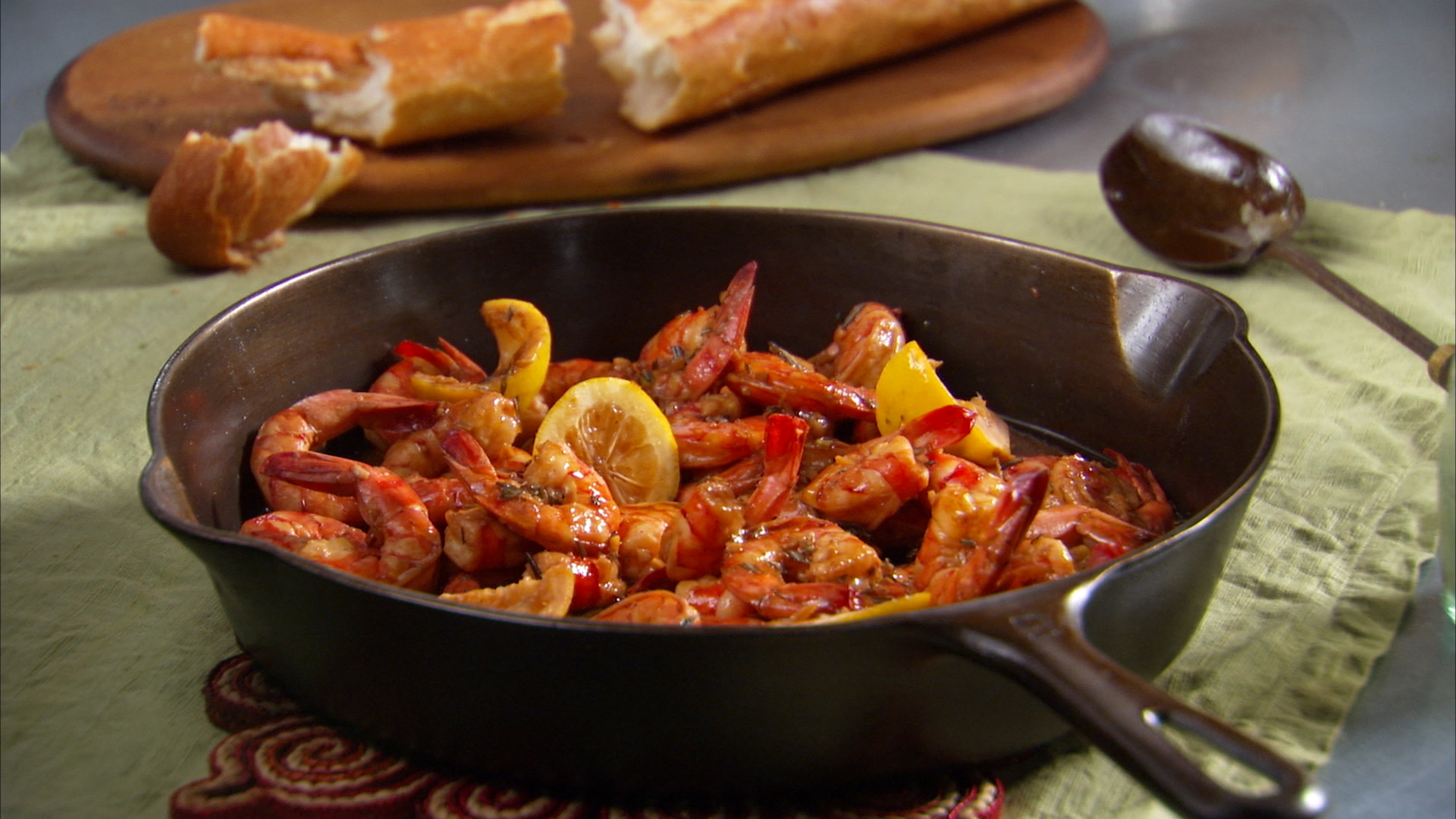 Mad Hungry Mr. Jim's BBQ Shrimp - Mad Hungry : Mad Hungry