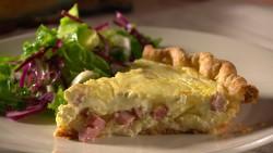 Mad Hungry Ham Quiche