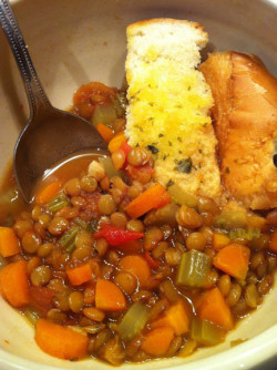 mad hungry my way john's lentil vegetable soup