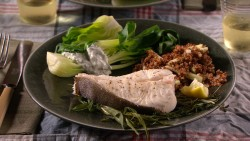 Mad Healthy Steamed Halibut